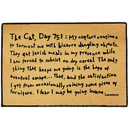 The Cat Day 751 Doormat