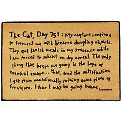 The Cat Day 751 Doormat