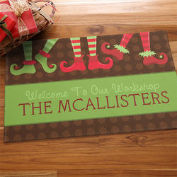 Welcome to Our Workshop Personalized Doormat