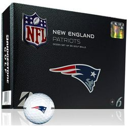 Personalized New England Patriots Golf Balls