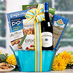 Rock Falls Vineyards Pinot Noir Gift Basket