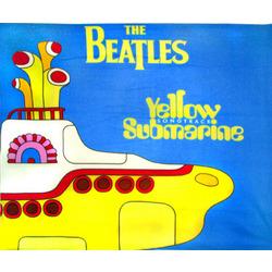 The Beatles Yellow Submarine Fleece Throw