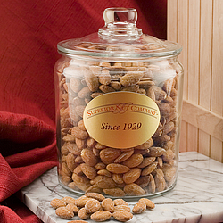 Jumbo California Almonds - 6 Pound Glass Jar