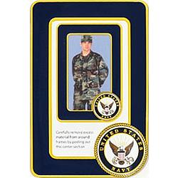 US Navy Photo Frame Magnet Set