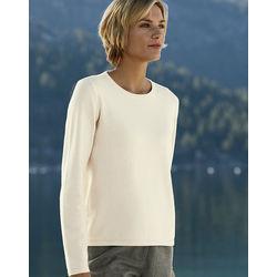 Cotton/Cashmere Crew-Neck Sweater
