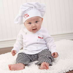 Baby Chef Three Piece Layette Gift Box
