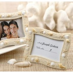 Seashell Place Card Holder Frame