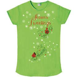 Season's Tweetings Sleeper T-Shirt