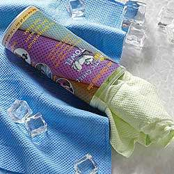 Green Arctic Chill Towel