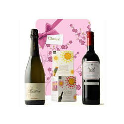 90 Point Rated Cookies and Corks Wine Gift Set