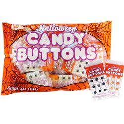 Halloween Candy Buttons Mini Srips
