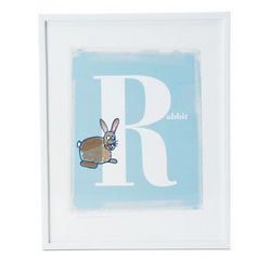 Framed Alphabet Wall Art