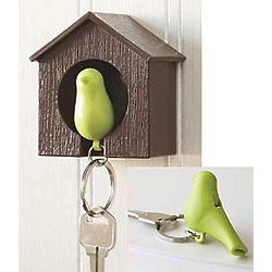 Sparrow Key Ring, Rack, and Whistle