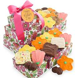 Happy Mother's Day Cookie Gift Tower