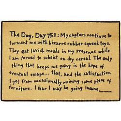 The Dog Day 751 Doormat
