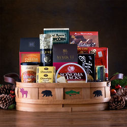 The Sportsman Snacks and Sweets Gift Basket