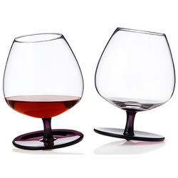 Rocking Cognac Glasses