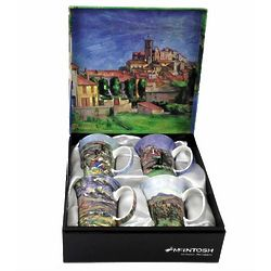 Cezanne Fine Bone China Mugs Set