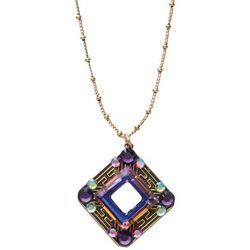 Aurora Borealis Crystal Pendant
