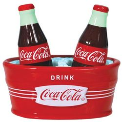 Coca-Cola Salt and Pepper Shakers