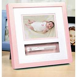 Pink Baby Hospital Id Bracelet Keepsake Photo Frame Findgiftcom