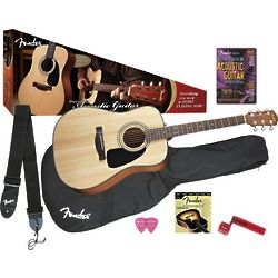Fender DG-8S Acoustic Guitar Pack