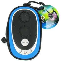 Go Portable Blue Speaker Case