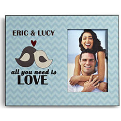 Personalized All You Need Is Love Frame