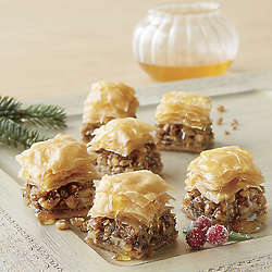 Miniature Baklava Dessert Bites 3 lbs. Gift Box