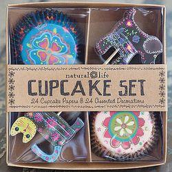 Dog and Cat Cupcake Set