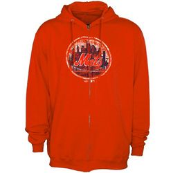 New York Mets Youth Retro Fleece Zipper Hoodie