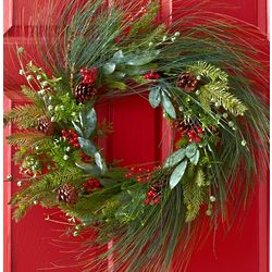"24"" Pine Wreath"