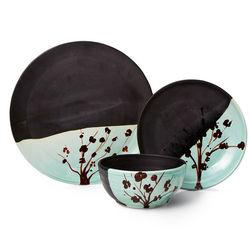 Cherry Blossom Stoneware Dishware Gift Set