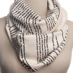 Famous Literary Books Scarf