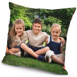Personalized Photo Blanket Pillow