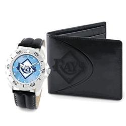 Tampa Bay Rays Watch and Wallet