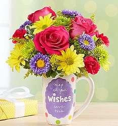 Mugable Best Wishes Bouquet