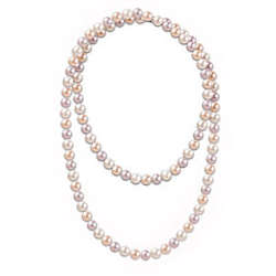One Hundred Good Wishes Pearl Necklace