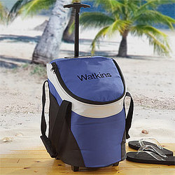 Personalized Rolling Cooler Bag