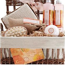 Groves of California Bath & Body Spa Basket