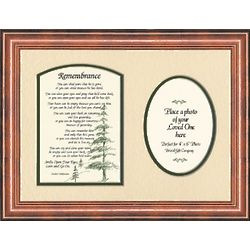 Male Remembrance Photo Memorial Frame