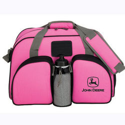 John Deere Pink Weekender Duffel Bag