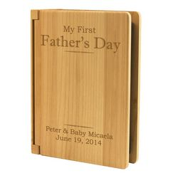 My First Father's Day Personalized Photo Album