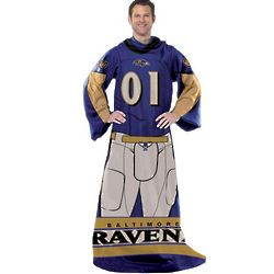 Baltimore Ravens Player Uniform Comfy Throw