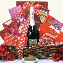 Medium Sweet Devotion Valentine's Day Wine Gift