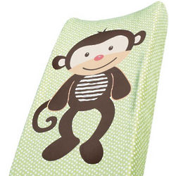 Monkey Design Changing Pad Cover