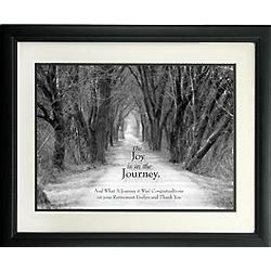 Personalized Joy of the Journey Print Recognition Award