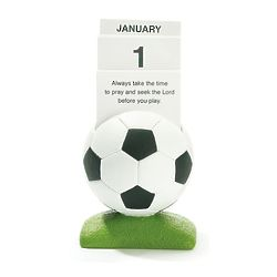 Soccer Prayer Card Calendar