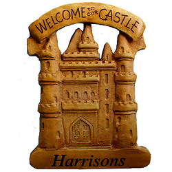 Personalized Welcome to Our Castle Plaque