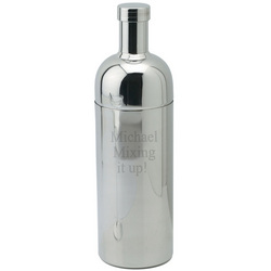 Modern Silver Martini Shaker